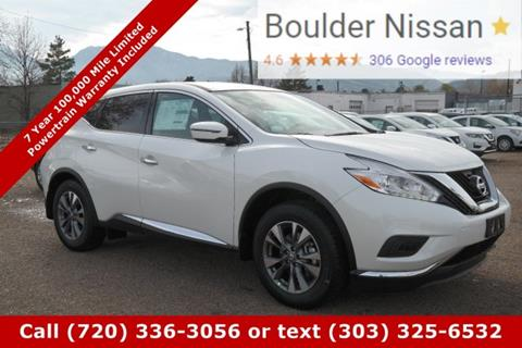 2017 Nissan Murano for sale in Boulder, CO