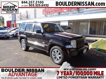 2012 Jeep Liberty for sale in Boulder, CO