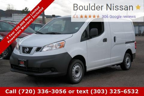 2017 Nissan NV200 for sale in Boulder, CO