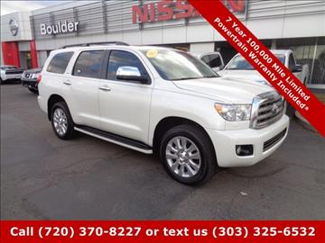 2013 Toyota Sequoia for sale in Boulder, CO