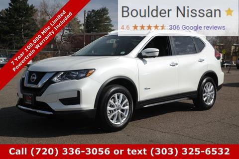 2017 Nissan Rogue Hybrid for sale in Boulder, CO