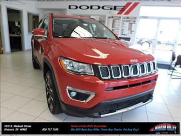 2017 Jeep Compass for sale in Wabash, IN