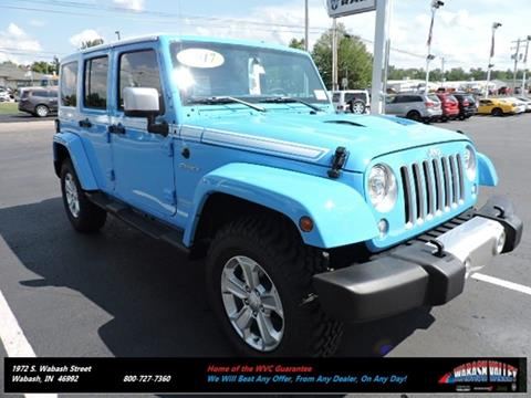 2017 Jeep Wrangler Unlimited for sale in Wabash IN
