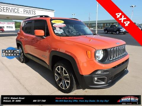 2016 Jeep Renegade for sale in Wabash, IN