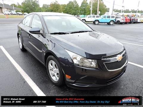 2014 Chevrolet Cruze for sale in Wabash, IN