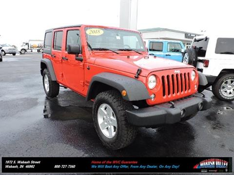 2017 Jeep Wrangler Unlimited for sale in Wabash, IN