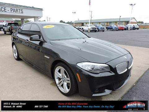 2013 BMW 5 Series for sale in Wabash, IN