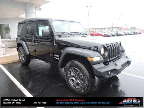 2018 Jeep Wrangler Unlimited for sale in Wabash, IN
