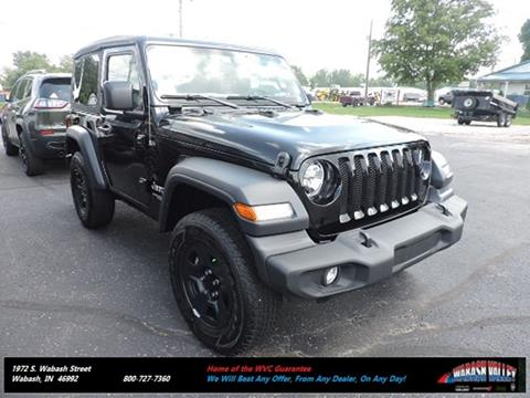 2018 Jeep Wrangler for sale in Wabash, IN