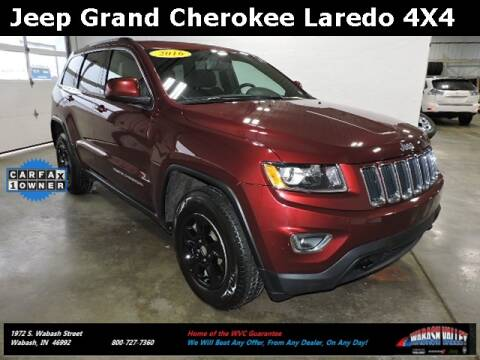 2016 Jeep Grand Cherokee for sale in Wabash, IN