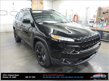 2017 Jeep Cherokee for sale in Wabash, IN
