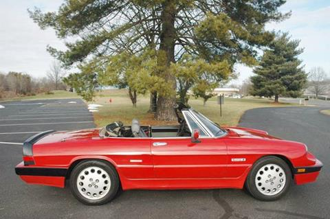 1988 Alfa Romeo Spider for sale in Fredericksburg, VA