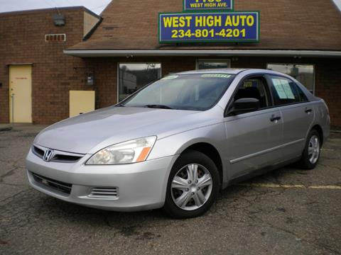 2006 Honda Accord for sale in New Philadelphia, OH