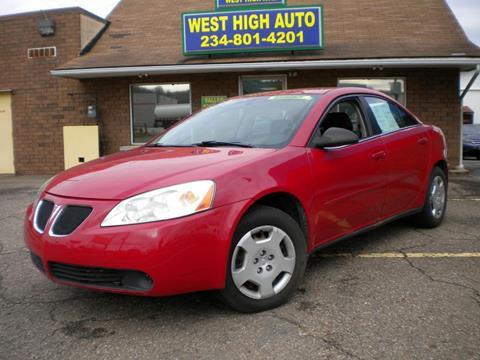 2007 Pontiac G6 for sale in New Philadelphia, OH
