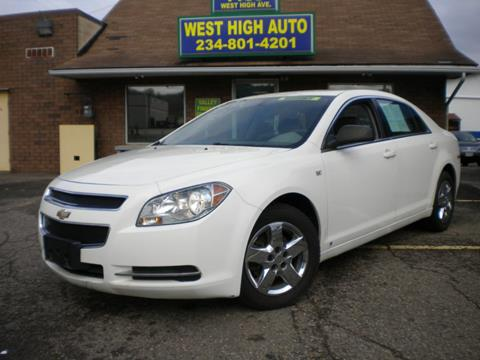 2008 Chevrolet Malibu for sale in New Philadelphia, OH