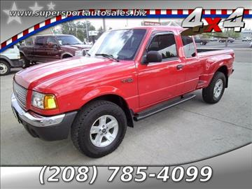 2002 Ford Ranger for sale in Blackfoot, ID