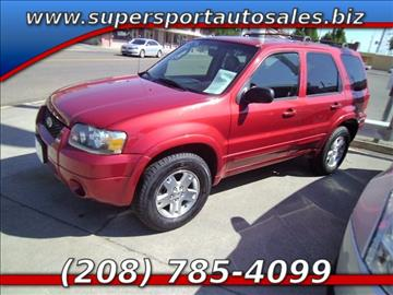 2006 Ford Escape for sale in Blackfoot, ID