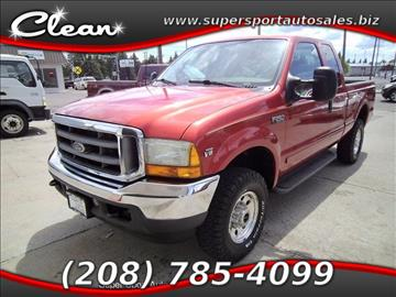 2001 Ford F-250 Super Duty for sale in Blackfoot, ID