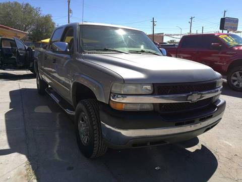 2002 Chevrolet Silverado 2500HD for sale in El Paso, TX