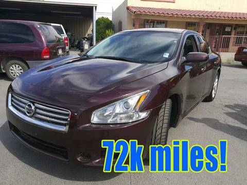 2014 Nissan Maxima for sale in El Paso, TX