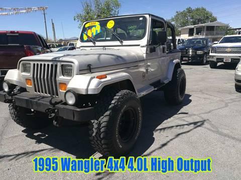 1995 Jeep Wrangler For Sale In El Paso, TX