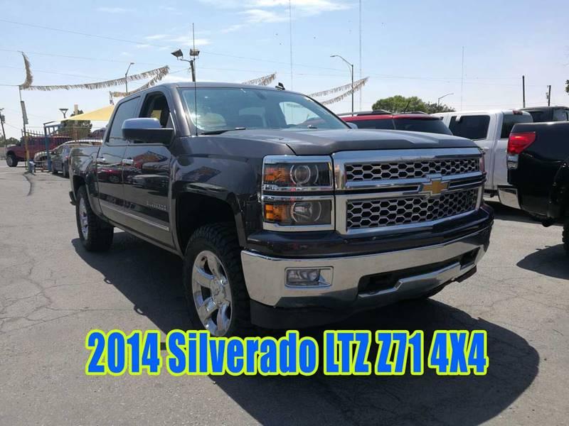 2014 Chevrolet Silverado 1500 Ltz Z71 In El Paso Tx Millenium
