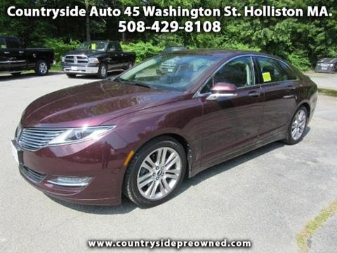 2013 Lincoln MKZ for sale in Natick, MA