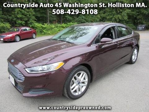 2013 Ford Fusion for sale in Natick, MA