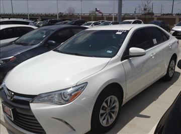 2016 Toyota Camry for sale in Dallas, TX