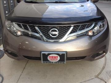2011 Nissan Murano for sale at Cowboy Toyota in Dallas TX