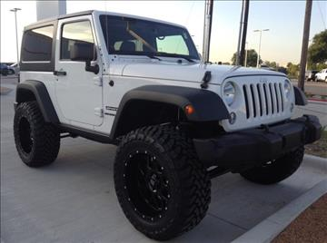 2014 Jeep Wrangler for sale at Cowboy Toyota in Dallas TX