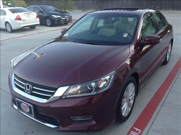 2013 Honda Accord for sale at Cowboy Toyota in Dallas TX
