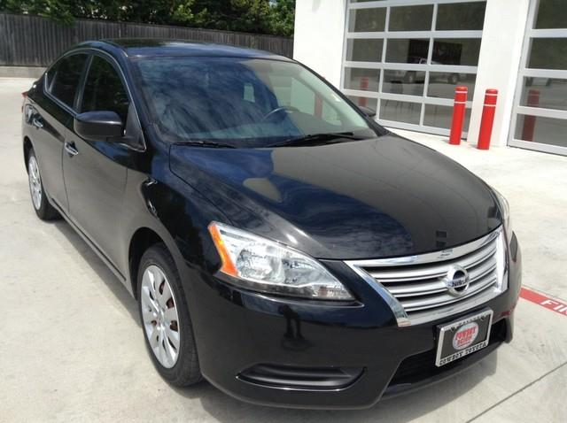 2013 Nissan Sentra for sale at Cowboy Toyota in Dallas TX