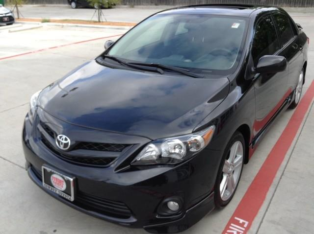 2013 Toyota Corolla for sale at Cowboy Toyota in Dallas TX