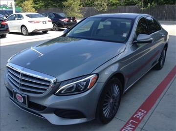 2015 Mercedes-Benz C-Class for sale at Cowboy Toyota in Dallas TX