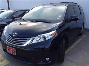 2015 Toyota Sienna for sale at Cowboy Toyota in Dallas TX