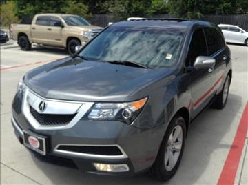 2011 Acura MDX for sale at Cowboy Toyota in Dallas TX
