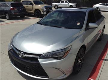 2015 Toyota Camry for sale at Cowboy Toyota in Dallas TX