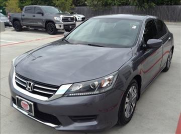 2015 Honda Accord for sale at Cowboy Toyota in Dallas TX