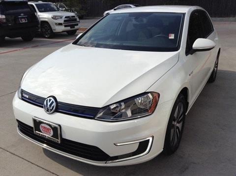 2016 Volkswagen e-Golf for sale in Dallas, TX