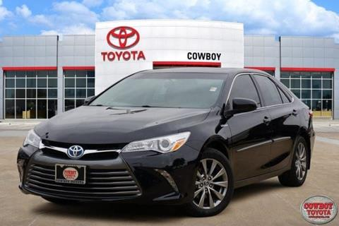 2015 Toyota Camry Hybrid for sale in Dallas, TX