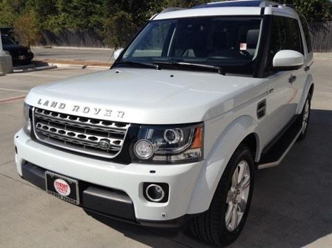 2015 Land Rover LR4 for sale in Dallas, TX