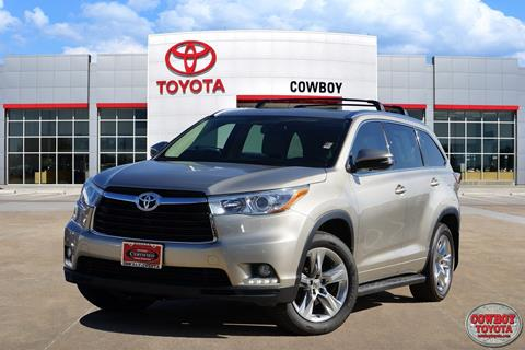 2014 Toyota Highlander for sale at Cowboy Toyota in Dallas TX