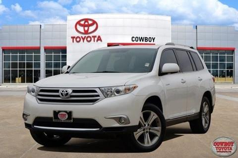 2011 Toyota Highlander for sale at Cowboy Toyota in Dallas TX
