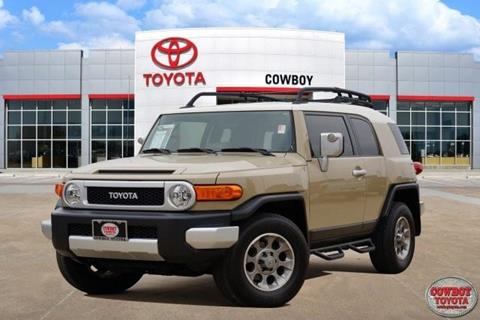2013 Toyota FJ Cruiser for sale at Cowboy Toyota in Dallas TX