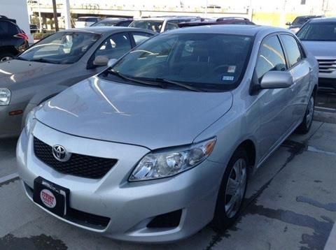 2009 Toyota Corolla for sale at Cowboy Toyota in Dallas TX