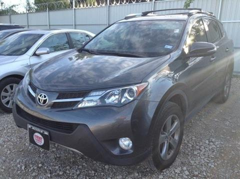 2015 Toyota RAV4 for sale at Cowboy Toyota in Dallas TX