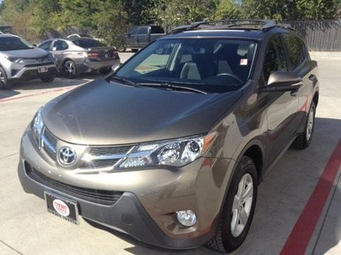 2014 Toyota RAV4 for sale at Cowboy Toyota in Dallas TX