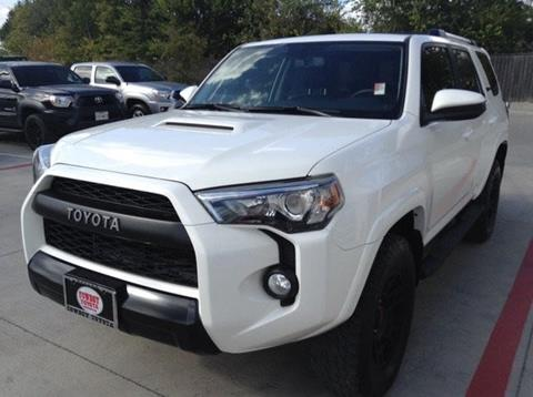 2016 Toyota 4Runner for sale at Cowboy Toyota in Dallas TX