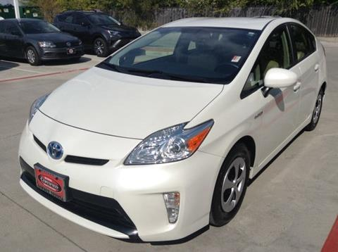 2015 Toyota Prius for sale at Cowboy Toyota in Dallas TX
